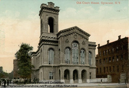 Third Onondaga County Courthouse - Postcard