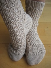 Bayerische socks, finished (3)