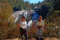 Laura and Amy at high Falls