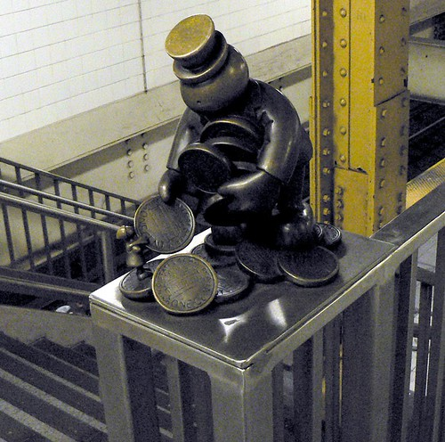 Tom Otterness - 14th Street Subway Station