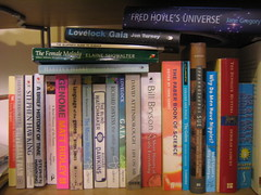 my science books (nonfiction)