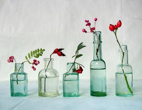 4 green bottles
