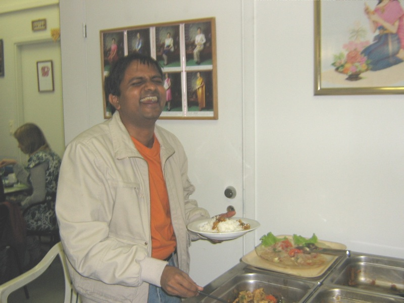 Kannan at the Chaff meeting
