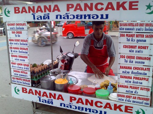 The Banana Pancake Man