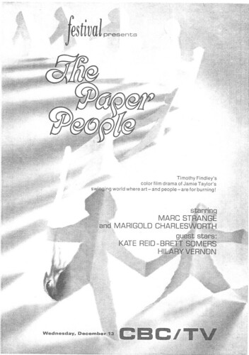 Vintage Ad #82 - The Paper People