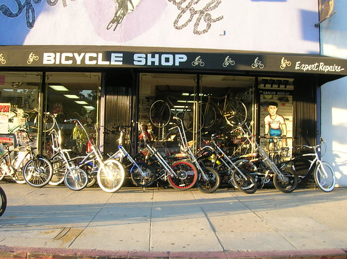 bike shop - melrose
