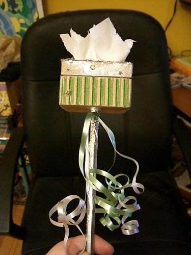 My Tissue Box Scepter