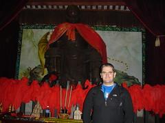 Buddah and Statue