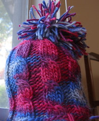 Asymetrical Cables Hat