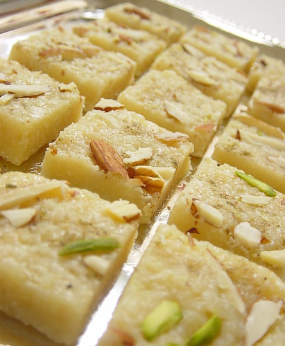 coconut fudge tray