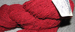 Red Sportweight Wool