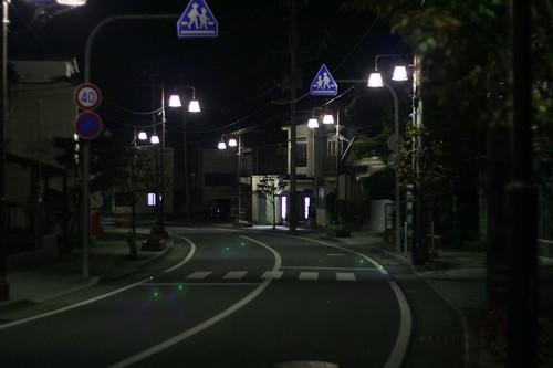 空無一人的街道