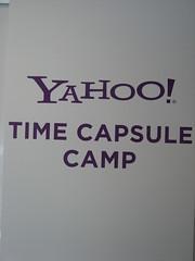 Yahoo! Time Capsule Camp