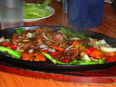 Hot Plate Venison