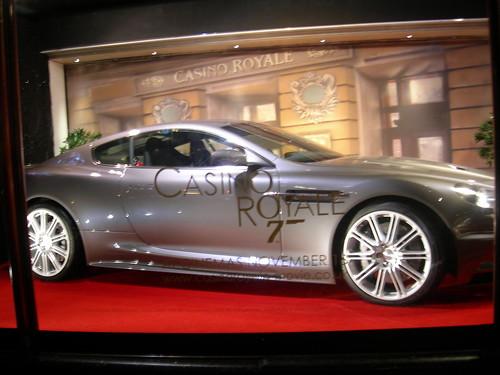 Bond's ride