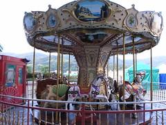 美麗華百樂園的小小旋轉木馬