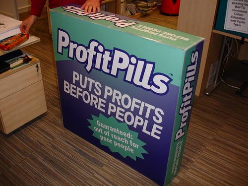 Profitpills campaign materials