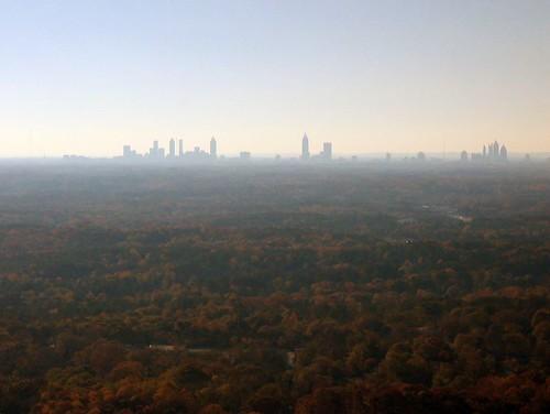 Distant Atlanta