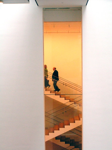 MoMA's stairs