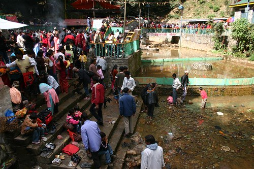Dakshinkali Temple (animal sacrifice). South of Kathmandu, Nepal