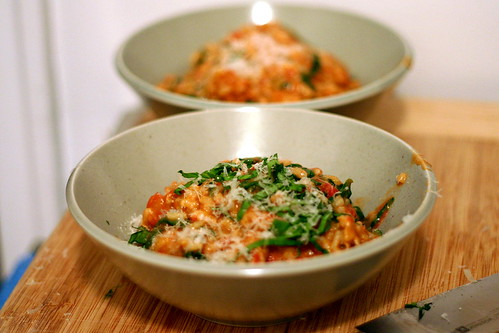 tomato and sausage risotto | smitten kitchen