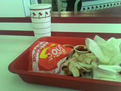 In-N-Out Burger.  Yum!