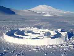 antarctica meditation maze