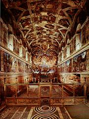 Sistine Chapel Di Vatican Museum, Vatican City