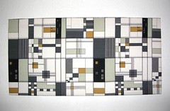 Fabric panel - blk&wht