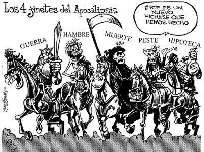 Los 5 jinetes del Apocalipsis