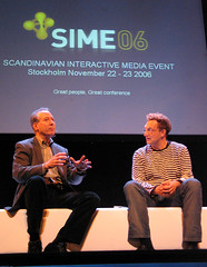 SIME 2006: Dan Gillmor and Andreas Weigend