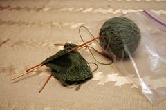 sock #1 in progress