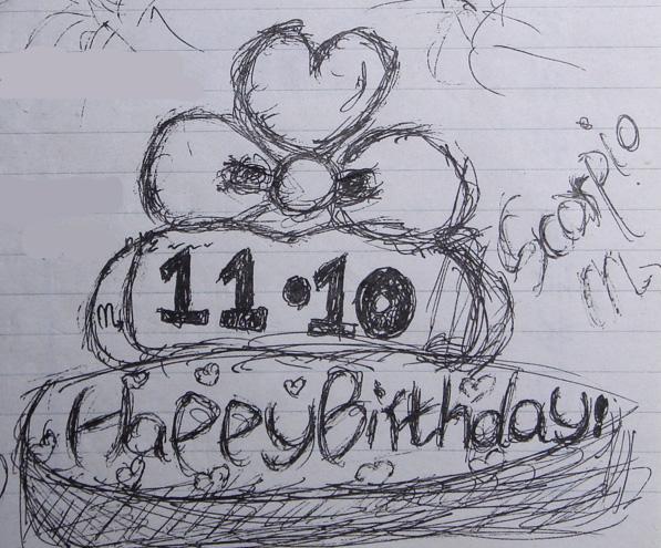 幼儿园生日蛋糕简笔画图片大全