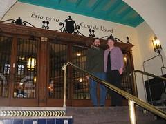 009 Alcazar Hotel steps