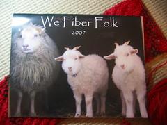 We Fiber Folk Calendar
