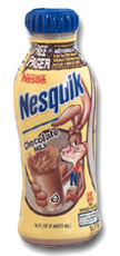 chocolate milk that never expires. YUM.