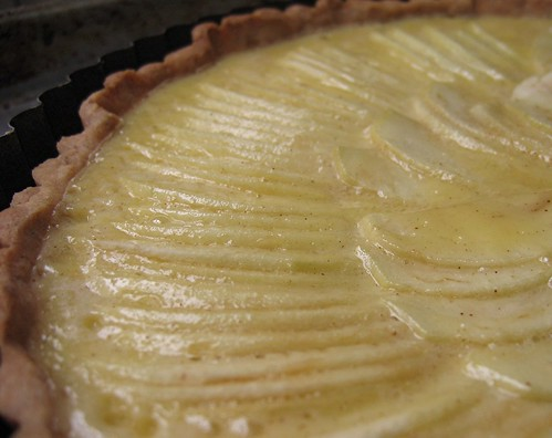 apple custard tart 1