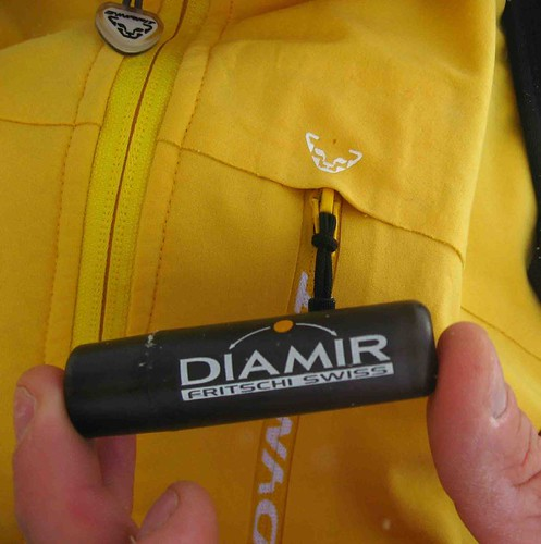 Dynafit bindings and Fritschi lip balm