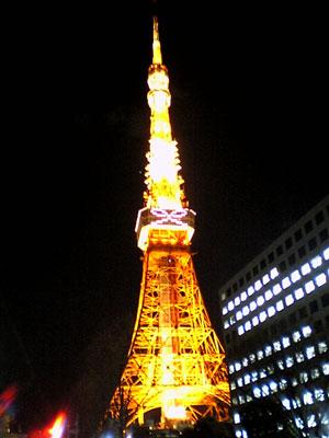 リボンの東京タワー