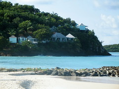 Jolly Beach headland, Antigua