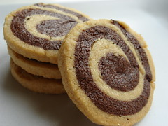 Chocolate Peanut Butter Spirals