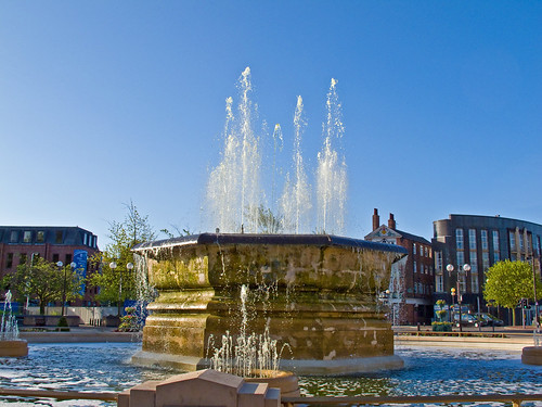 Hull City Centre Fountain