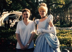 Nancy with Cinderella