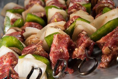Kebab Prep