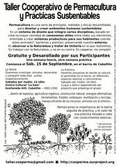 Taller Cooperativo de Permacultura y Prácticas Sustentables (by cooperma)