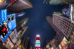 Broadway HDR Fisheye photo by michielmos