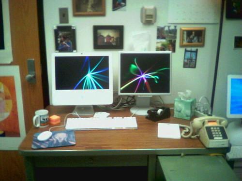 iMac w/monitor