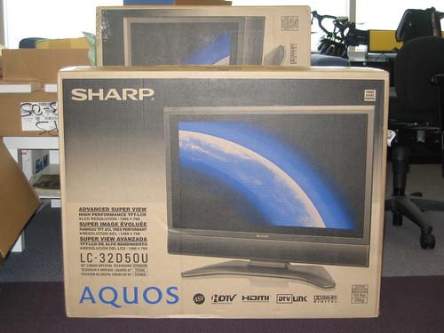 Sharp LCD TVs!