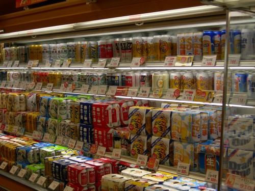 supermarché 4 bière