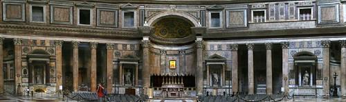 Pantheon in Rome - Inside